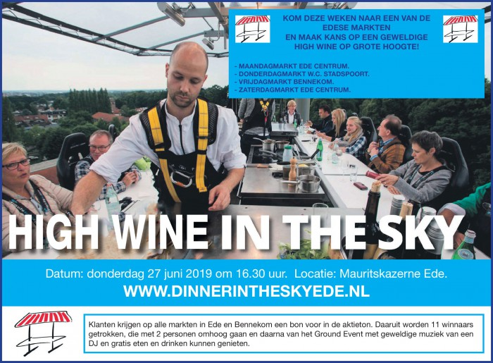 High wine in the sky